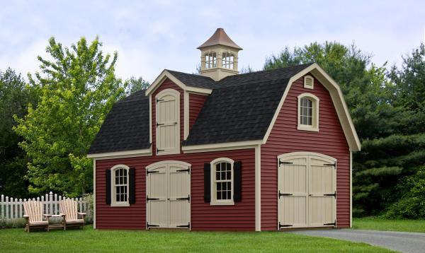 12' x 24' Liberty 2-Story Dutch Barn