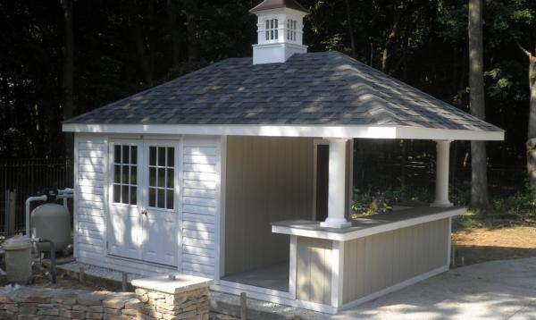 12' x 16' Siesta with 2' overhang