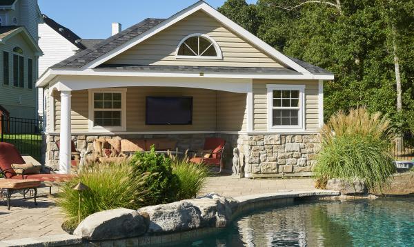 12' x 20' Wellington Pool House