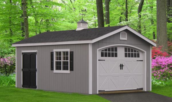 Garage designs prices 1 car 2 car and 3 car garages for Collector car garage plans