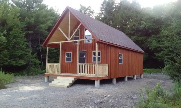 18' x 36' Liberty A Frame Cabin