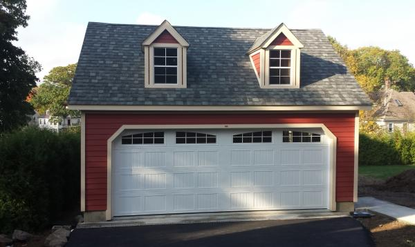 2 Car 2 Story A Frame Garage
