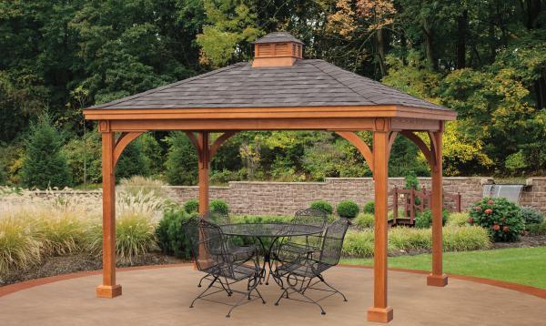 Keystone Wooden Pavilion