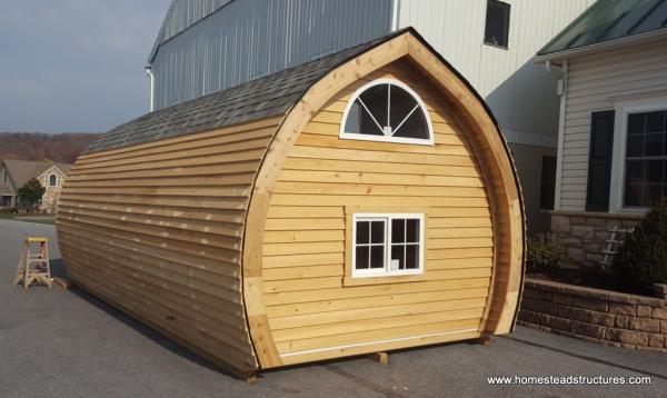 10.5' x 24 Custom Tiny Home - Hobbit House for Sweet Dreams