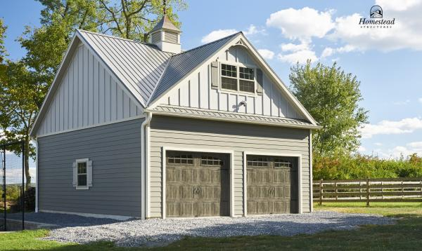 24' x 24' Classic 2-Story, 2-Car Garage in Middletown Ohio