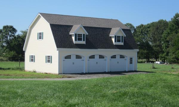 30 x 44 Liberty Dutch Garage (Vinyl Siding)