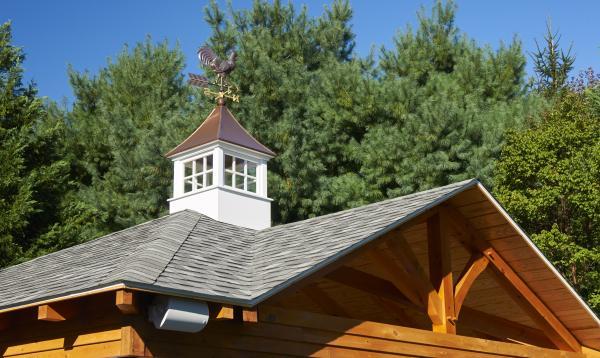 18x22 Timberframe Avalon Pool House with cupola