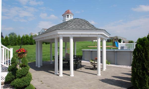 12' x 20' Belvedere Pavilion (no floor)