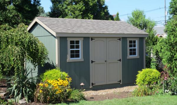 8' x 14' Laurel A Frame Shed (D-temp siding)