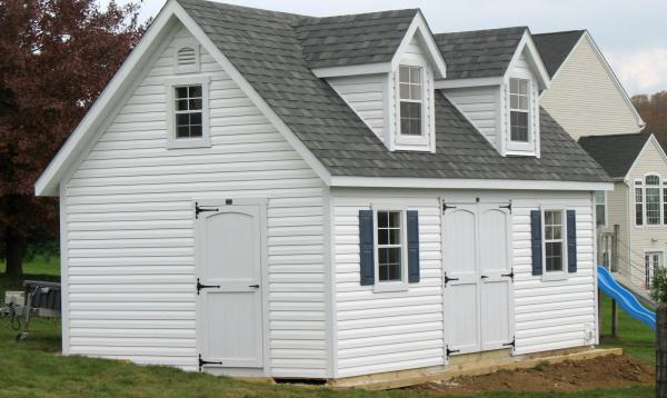 2 Story Liberty A-Frame Shed