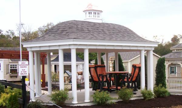 12 x 20 Belvedere Pavilion