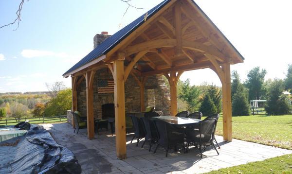 Wooden Pavilions Timber Frame Pavilions Homestead Structures