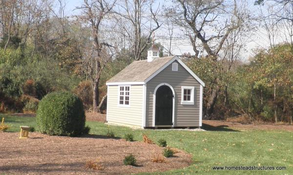 10' x 12' Laurel A-Frame Shed (Vinyl Siding)