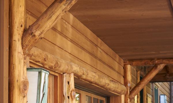 16' x 24' Custom Garage (wood siding)