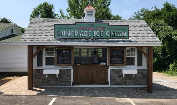 Ice Cream Shop at the Old Hitching Post in Kentucky