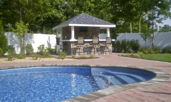 10' x 12' Siesta Poolside Bar (vinyl siding)