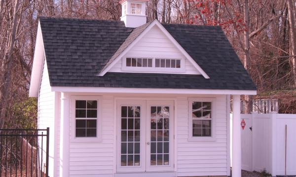 15 x 16 Heritage Pool House (vinyl siding)