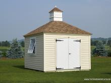 10' x 10' Garden Series Hip Roof Shed (LP Lap Siding)