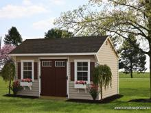 10' x 16' Laurel Series Quaker Shed (Vinyl Siding)