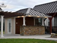 10' x 14' Siesta Poolside Bar with Pergola Display in New Holland PA