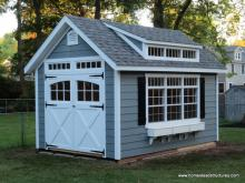 10' x 15' Century A-Frame Shed (Hardie Plank siding)