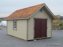 10x16 a frame garden shed with lp lap siding
