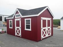 10' x 18' Laurel Chalet/Victorian Shed in Bellingham, MA