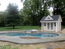 11' x 12' Heritage Century Pool House in Basking Ridge, NJ