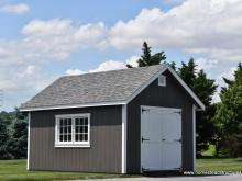 12' x 16' Century A-Frame with 8/12 roof pitch & 2 doors