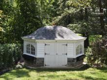 12 x 16 Garden Belle with Stone Veneer in Malvern PA