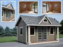 12' x 16' Heritage Pool House Design for Sale - New Holland, PA