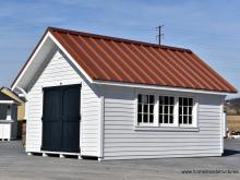 12' x 16' Premier Garden Shed with metal roof in Basking Ridge, NJ
