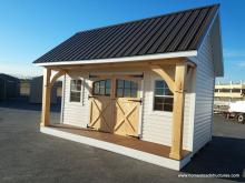 12x17 Heritage Pool House with Timberframe posts
