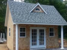 14' x 16' Heritage Liberty Pool House (Cedar Shakes siding)
