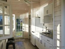 Interior kitchen on Avalon pool house