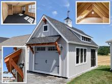 14' x 24' Liberty 1-Car 2-Story Garage in New Holland PA