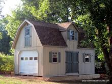 14x24 Liberty Dutch Barn Shed with duratemp