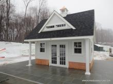 15' x 16' Heritage Pool House - Liberty model with dormer