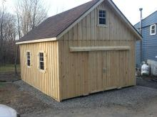 16' x 20' Century A-Frame Shed in Board & Batten with a 2nd floor