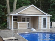 16' x 20' Wellington Poolhouse (vinyl siding)