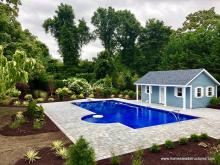 16' x 24' Heritage Pool House - Classic Series in Bay Shore, NY