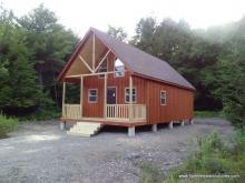 18' x 36' A-Frame Cabin