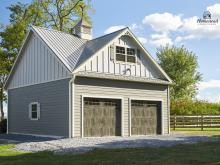 28' x 24' Classic 2-Story, 2-Car Garage in Middletown, MD