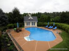 14' x 18' Heritage Liberty Pool House in Chester Springs PA