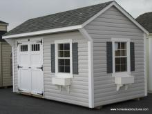 8' x 14' Laurel Quaker Shed (Vinyl Siding)
