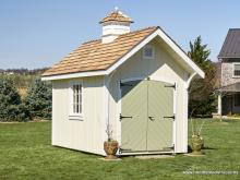 8x12 Premier Garden Shed with cupola