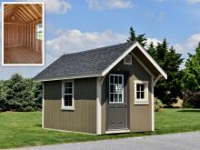 8' x 12' Premier Garden Shed for sale