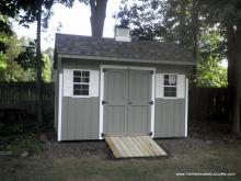 8' x 12' Keystone Quaker Shed with cupola
