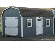 10' x 18' Laurel Dutch Barn Shed (D-Temp Siding)