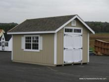 10' x 14' Classic A Frame Shed (D-temp Siding)